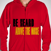 Creative Cannon Red Hoodie